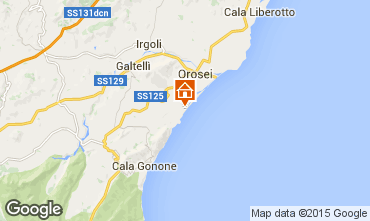 Map Orosei Chalet 94343