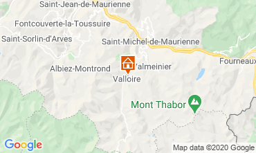 Map Valloire Chalet 38642