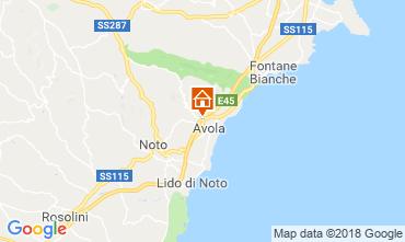 Map Avola Villa 117196