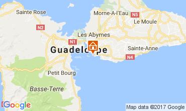 Map Gosier (Guadeloupe) Studio apartment 112333