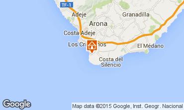 Map Playa de las Américas Apartment 96719