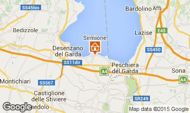 Map Sirmione Apartment 69665