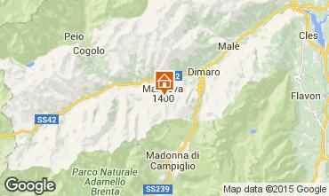 Map Marilleva Apartment 37831
