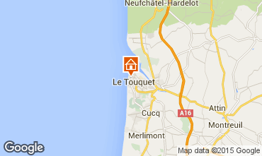 Map Le Touquet Apartment 7766
