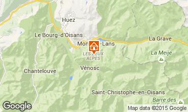 Map Les 2 Alpes Apartment 48478