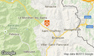 Map Serre Chevalier Apartment 27829