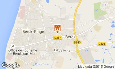Map Berck-Plage Apartment 86921