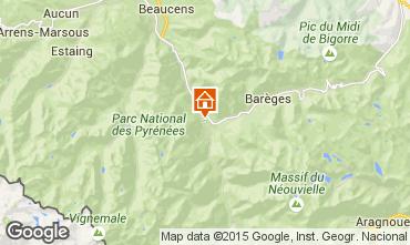 Map Luz Saint Sauveur Chalet 88148