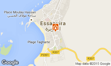Map Essaouira Apartment 28335