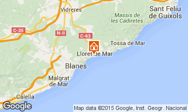 Map Tossa de Mar Apartment 78261