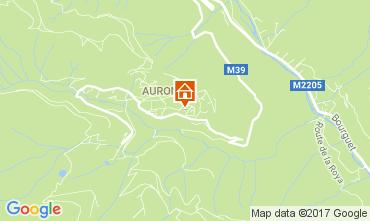 Map Auron - Saint Etienne de Tinée Studio apartment 112686