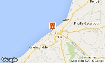 Map Mers Les bains Apartment 67921