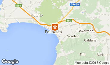 Map Follonica Apartment 75628