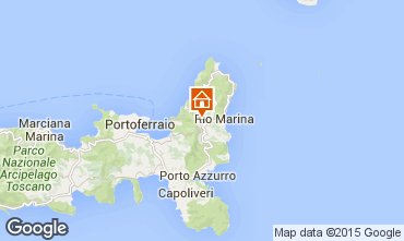 Map Rio nell'Elba Studio apartment 82855