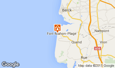 Map Fort Mahon Apartment 18927