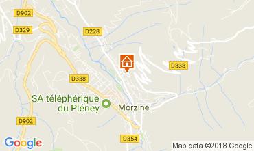 Map Morzine Flat 80335