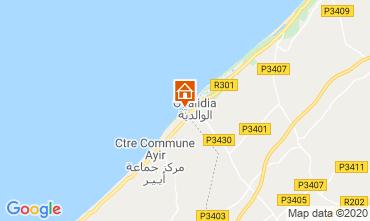 Map Oualidia Villa 23490