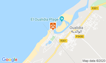 Map Oualidia Villa 23490