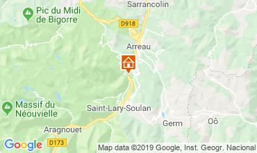 Map Saint Lary Soulan House 117672