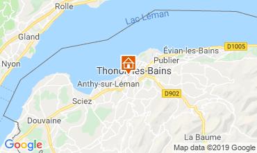Map Thonon Les Bains Apartment 118446