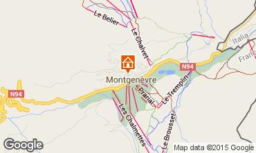 Map Montgenevre Chalet 56206