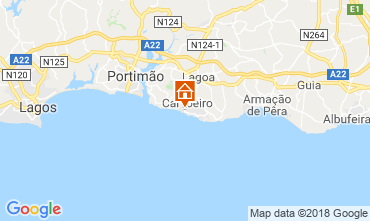 Map Carvoeiro Apartment 86574