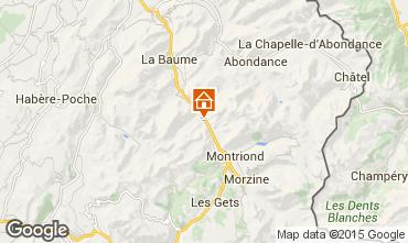 Map Morzine Chalet 1969