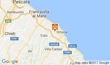 Map Ortona Apartment 55524