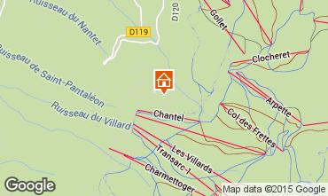 Map Les Arcs Apartment 101056