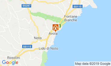 Map Avola Villa 54190