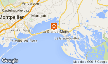 Map La Grande Motte Apartment 6053