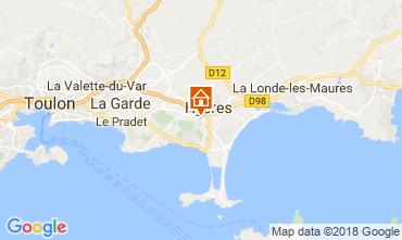 Map Hyères Villa 113023