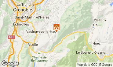 Map Chamrousse Apartment 770