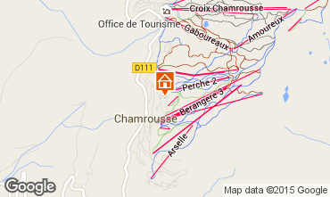 Map Chamrousse Apartment 770