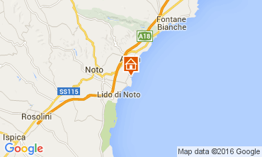 Map Noto Villa 104955