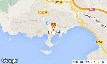 Map Bandol Apartment 54516
