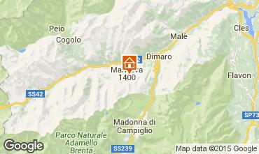 Map Marilleva Apartment 31034