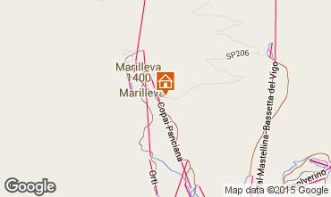 Map Marilleva Flat 31034