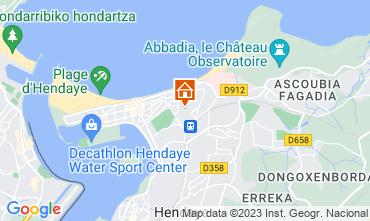 Map Hendaye Apartment 54924