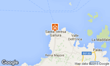 Map Santa Teresa di Gallura Apartment 86526