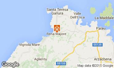 Map Santa Teresa di Gallura Apartment 41965