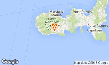 Map Campo nell'Elba Apartment 80792