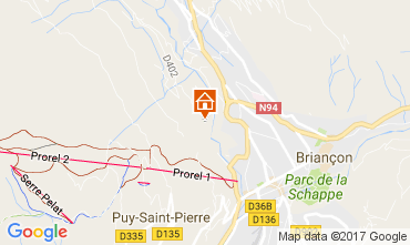 Map Serre Chevalier House 90691