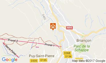 Map Serre Chevalier House 90691