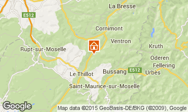 Map Ventron Self-catering property 4680