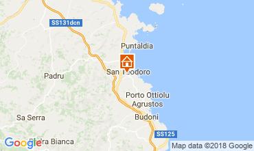 Map San Teodoro Villa 114676