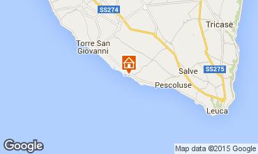 Map Lido Marini Apartment 35867