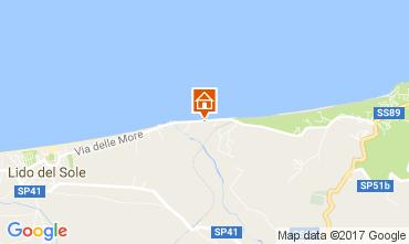 Map Rodi Garganico House 110434