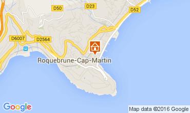 Map Roquebrune Cap Martin Apartment 104967