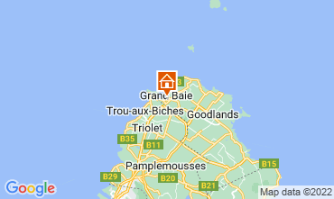 Map Grand Baie Villa 76883